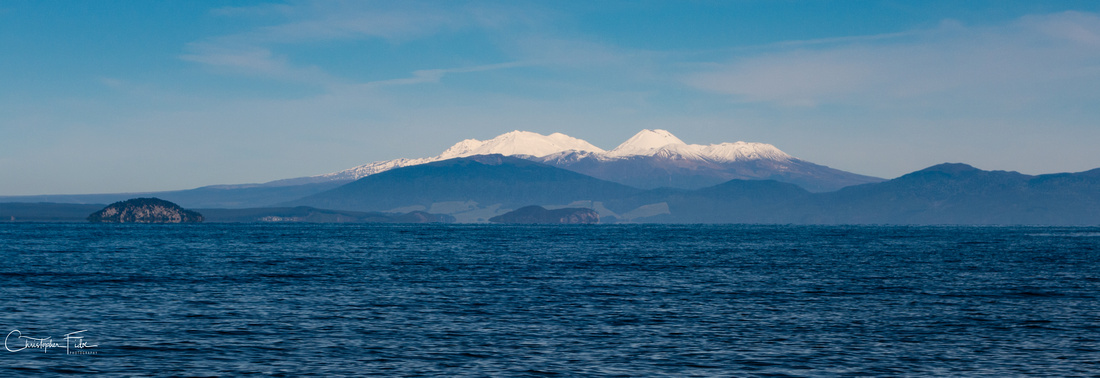Central Plateau across Lake Taupo
